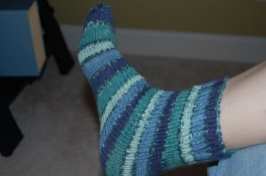 My sock!